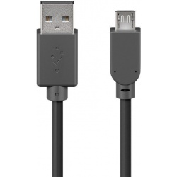USB kabel 2.0 A male - micro B male